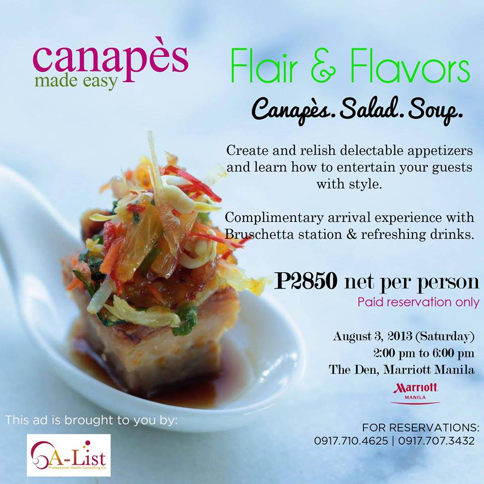 Flair & Flavors at The Marriott Manila